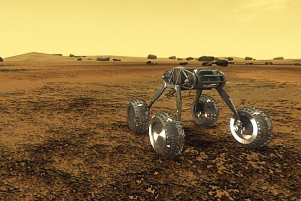 Artist's Impression of the Venus Rover