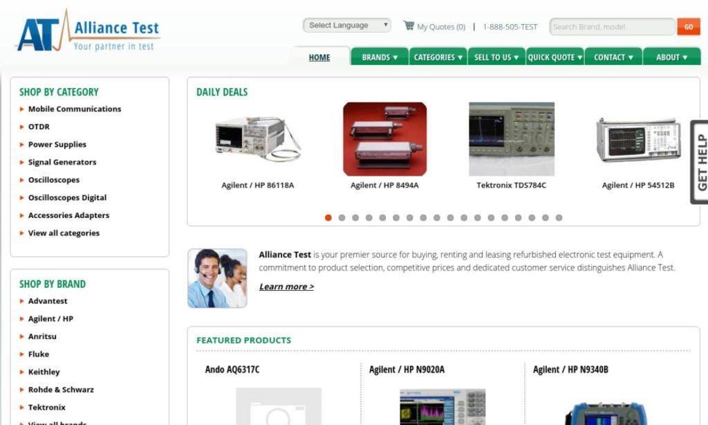 Alliance Test Equipment, Inc.