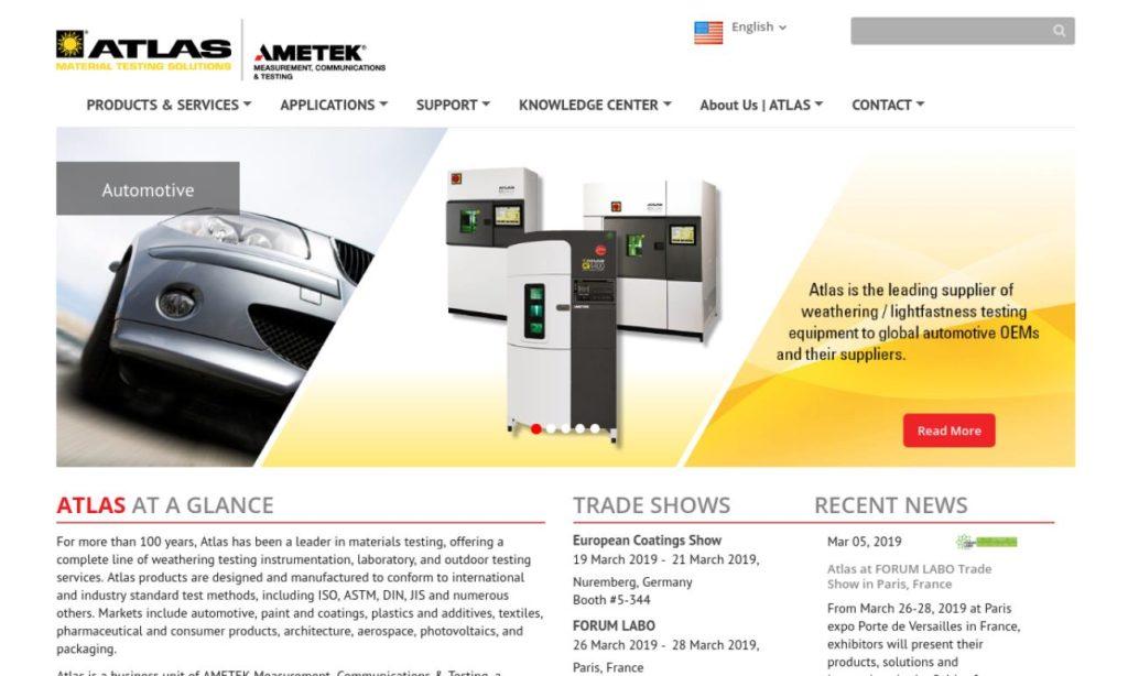 AMETEK - Atlas Material Testing Solutions