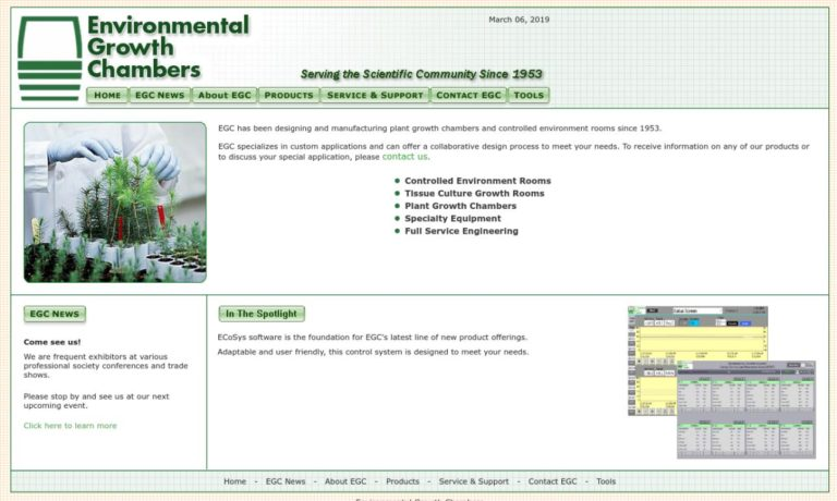 Environmental Growth Chambers