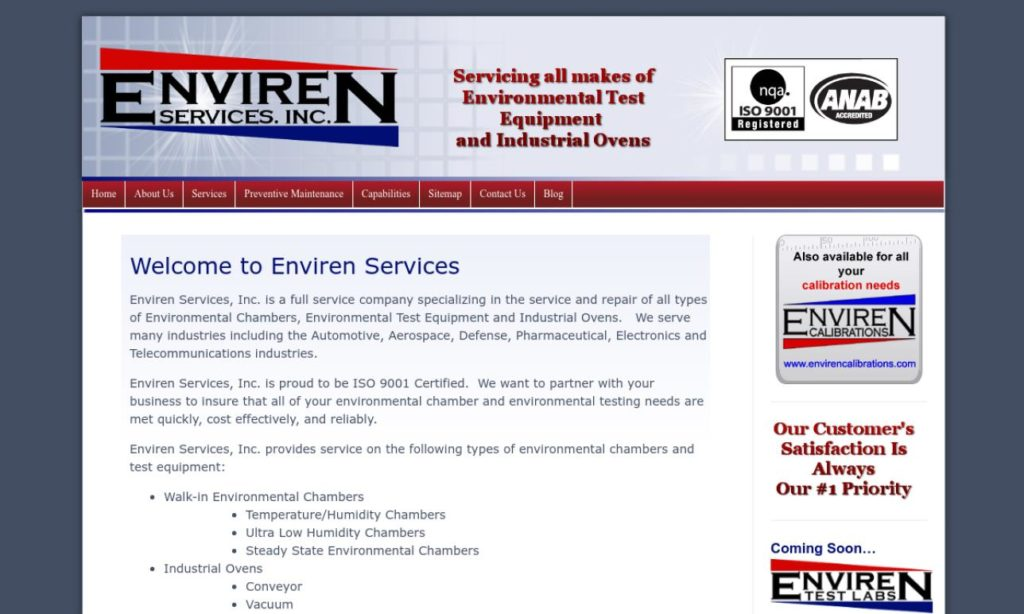 Enviren Services, Inc.