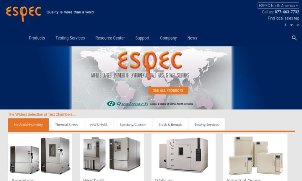 ESPEC North America, Inc.