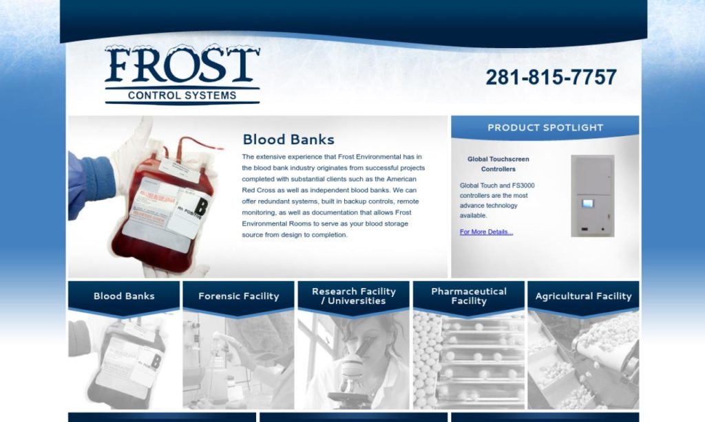 Frost Environmental Rooms, Inc.
