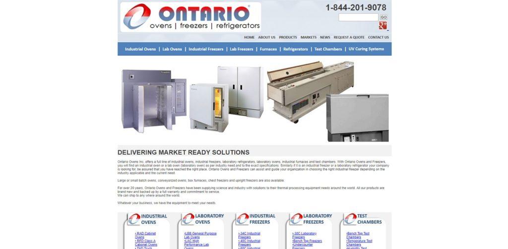 Ontario Ovens Inc.