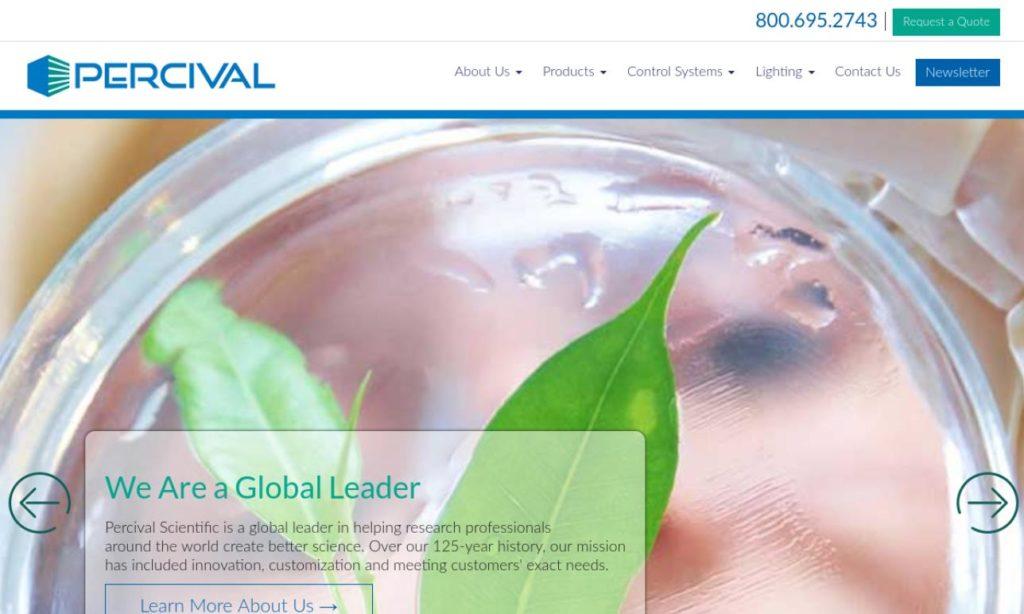 Percival Scientific, Inc.
