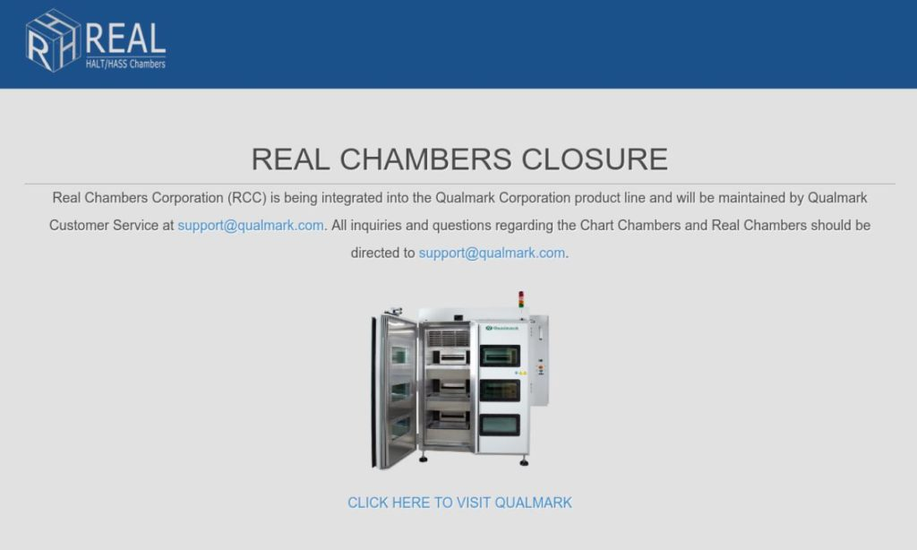 REAL Chambers Corporation