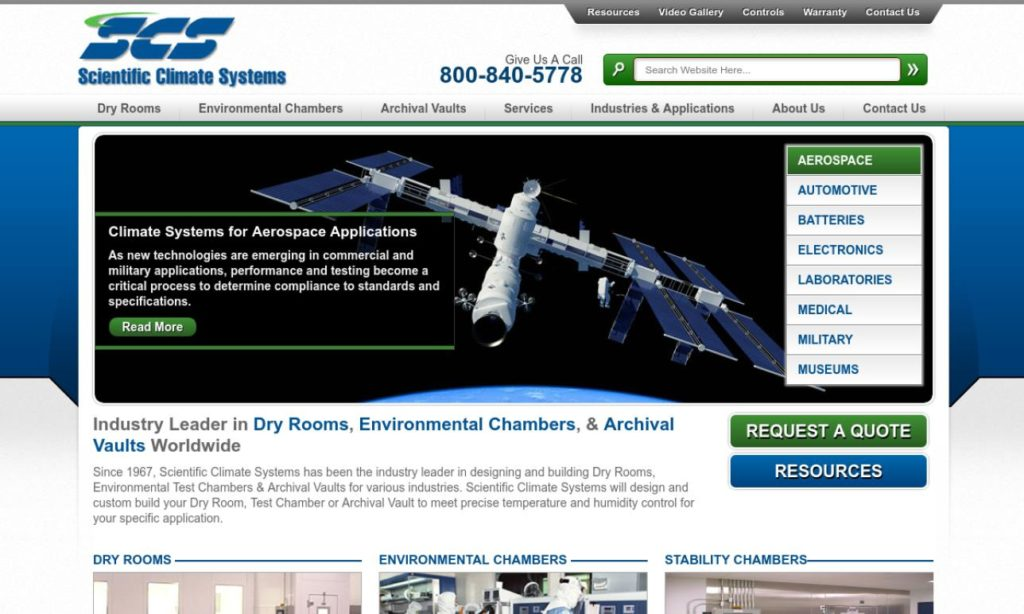 Scientific Climate Systems, Inc.