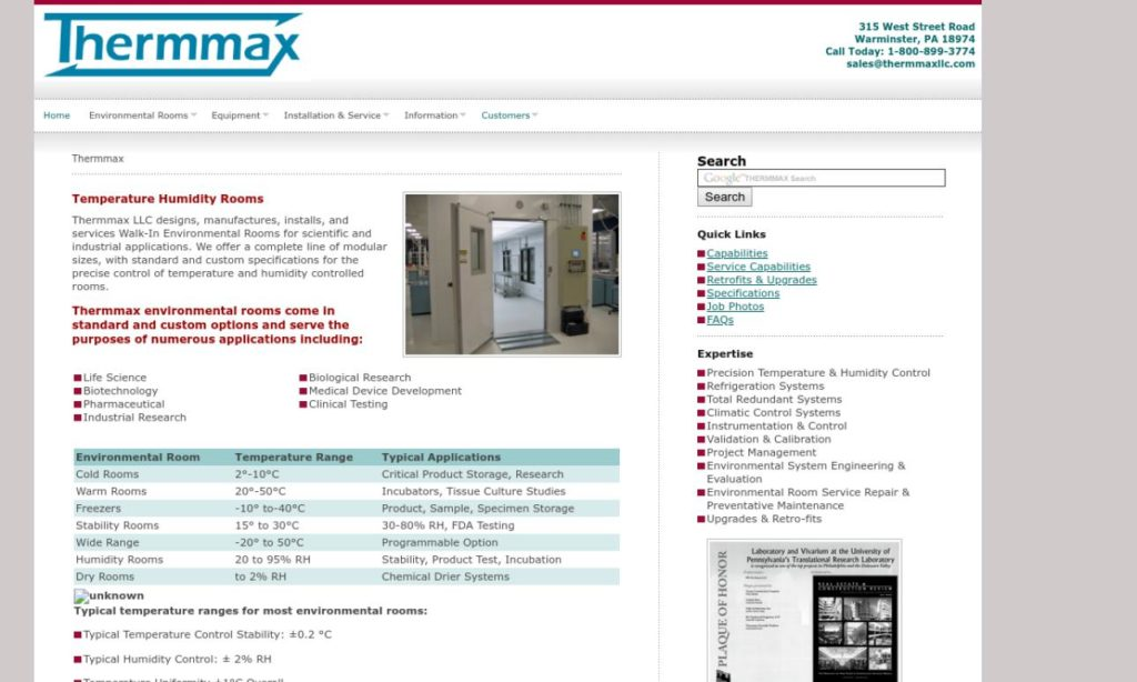 Thermmax Scientific Products