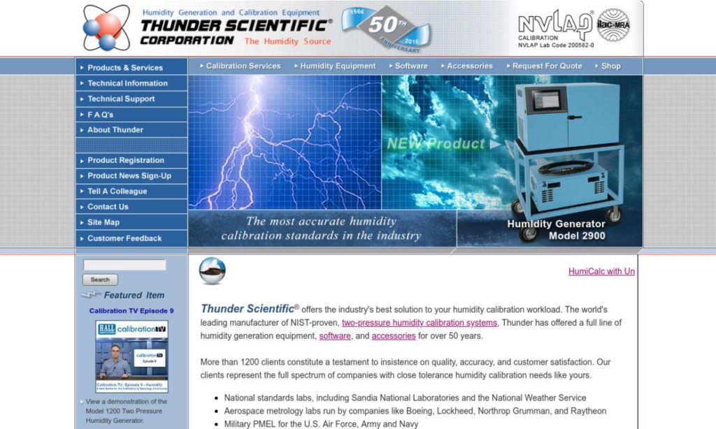 Thunder Scientific Corporation
